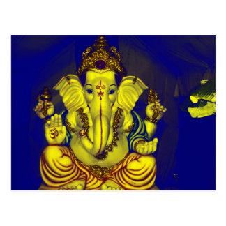 Cartão Postal Ganesh brilhante!