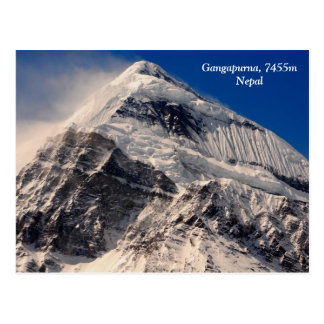Cartão Postal Gangapurna