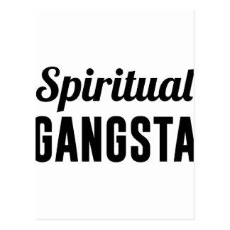 Cartão Postal Gangsta espiritual