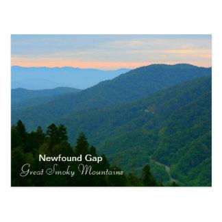 Cartão Postal Gap Newfound - Great Smoky Mountains