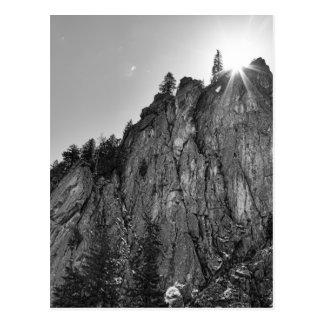 Cartão Postal Garganta de Boulder do pináculo dos estreitos