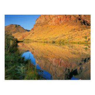 Cartão Postal Garganta dos EUA, Oregon, rio de Owyhee