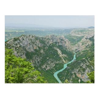 Cartão Postal Garganta Provence France de Verdon