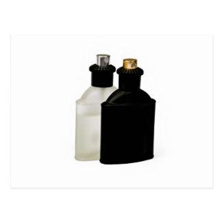 Cartão Postal garrafas de perfume