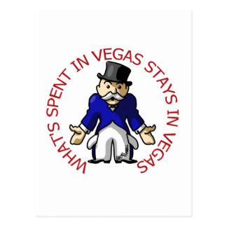 Cartão Postal Gastado em Vegas