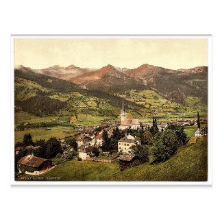 Cartão Postal Gastein (isto é, Hof Gastein), Salzburg,