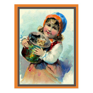 Cartão Postal Gatinhos! Apenas para você!