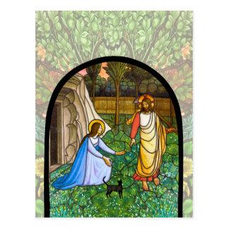 Cartão Postal Gato do Fra Angelico (2) (o gato de Yeshua)