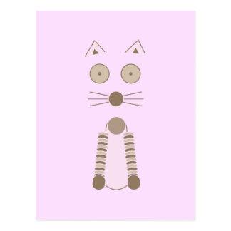 Cartão Postal Gato simples