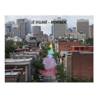 Cartão Postal gay, pride, orgulho, aldeia gay, Montreal