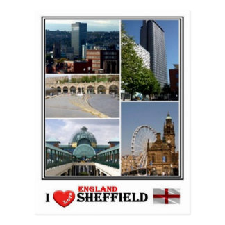 Cartão Postal GB Inglaterra - Yorkshire Sheffield -