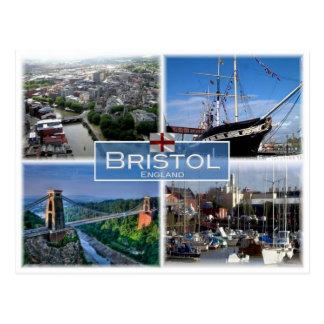 Cartão Postal GB Reino Unido - Inglaterra - Bristol -