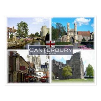 Cartão Postal GB Reino Unido - Inglaterra - Canterbury -