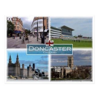 Cartão Postal GB Reino Unido - Inglaterra - Doncaster -