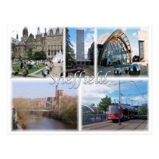Cartão Postal GB Reino Unido - Inglaterra - Sheffield -