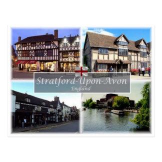 Cartão Postal GB Reino Unido - Inglaterra - Stratford-Em