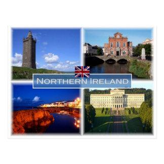Cartão Postal GB Reino Unido - Irlanda do Norte -