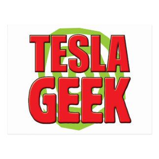 Cartão Postal Geek de Tesla