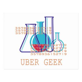 Cartão Postal Geek de Uber