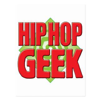 Cartão Postal Geek v2 de Hip Hop