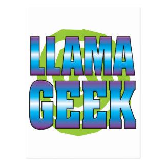 Cartão Postal Geek v3 do lama