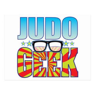 Cartão Postal Geek v4 do judo