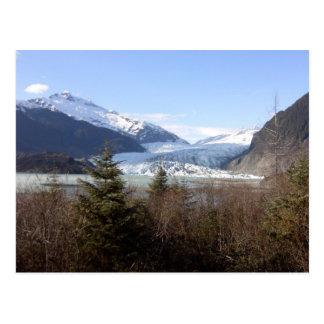 Cartão Postal Geleira de Mendenhall, Alaska