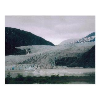 Cartão Postal Geleira do Alasca