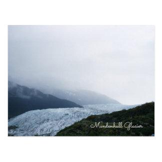 Cartão Postal Geleira Juneau Alaska Icefield de Mendenhall