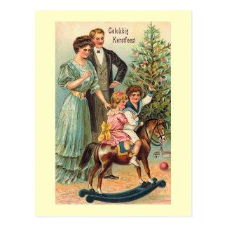"Cartão Postal ""Gelukkig Kerstfeest """