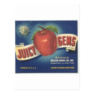 Cartão Postal Gemas de Jucy
