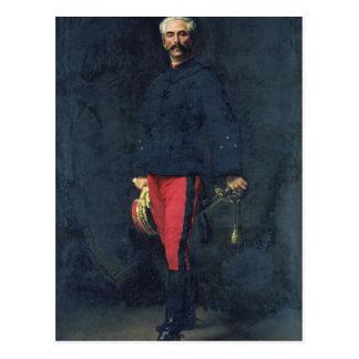 Cartão Postal General Gaston Auguste Marquês de Gallifet
