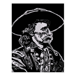 Cartão Postal General George Armstrong Custer