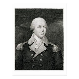 Cartão Postal General principal Nathaniel Greene (1742-86),