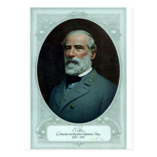 Cartão Postal General Robert E. Lee