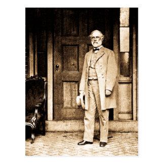 Cartão Postal General Robert E. Lee Vintage Mathew Brady