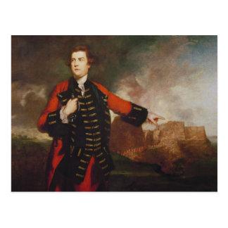 Cartão Postal General William Keppel