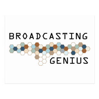 Cartão Postal Gênio da transmissão