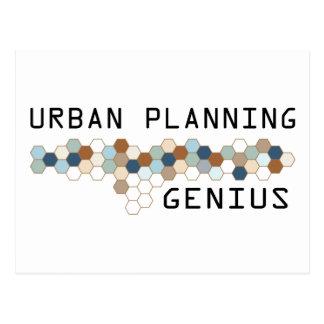 Cartão Postal Gênio do planeamento urbano