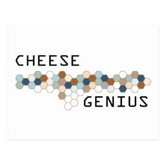 Cartão Postal Gênio do queijo