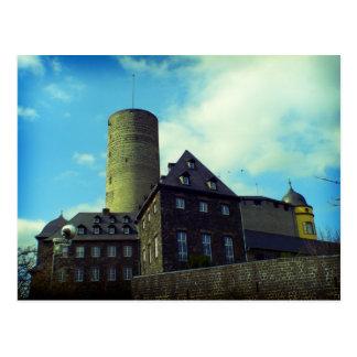 Cartão Postal Genovevaburg, castelo em Mayen, Alemanha