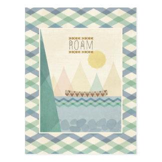Cartão Postal Geo exterior II | vagueia
