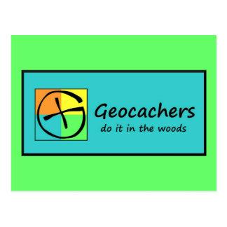 Cartão Postal Geocachers