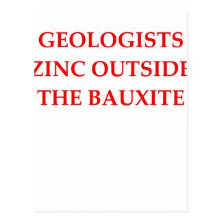 Cartão Postal geologia