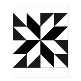 Cartão Postal geométricos dos blocos