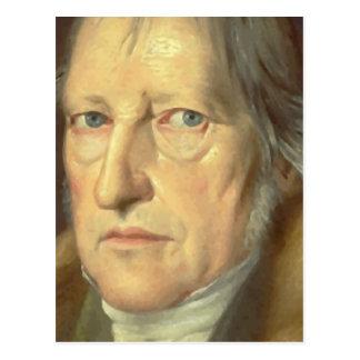 Cartão Postal Georg Wilhelm Friedrich Hegel