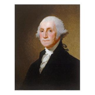 Cartão Postal George Washington, c.1821 (óleo em canvas)