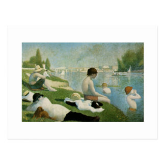 Cartão Postal Georges Seurat
