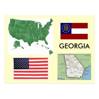Cartão Postal Geórgia, EUA