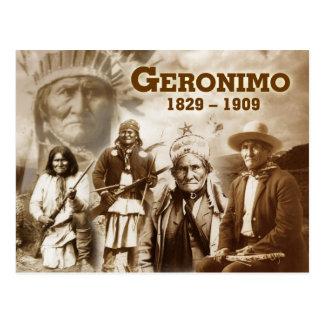 Cartão Postal Geronimo do Chiricahua apache